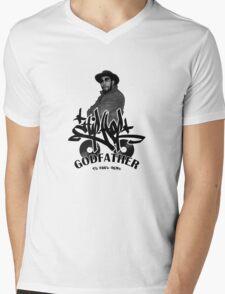 The Godfather of Hip-Hop Mens V-Neck T-Shirt