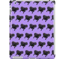 Purple Chocolate Lab Color Pattern iPad Case/Skin