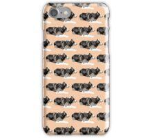 Peach Husky Color Pattern iPhone Case/Skin
