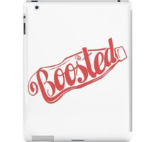2 Litre Boosted Popbottle - DUSTED TOMATO RED iPad Case/Skin