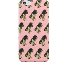 Salmon Spaniel Color Pattern iPhone Case/Skin