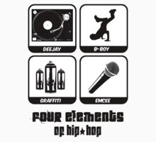 Four Elements of Hip-Hop by raneman