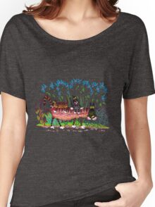 Kittyback ride Women's Relaxed Fit T-Shirt
