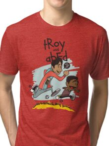 Troy + Abed Tri-blend T-Shirt