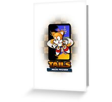 Tails Miles Prower Greeting Card