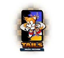 Tails Miles Prower Photographic Print