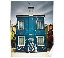 Burano, Venice Poster