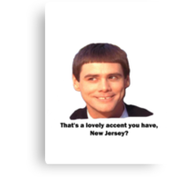 DUMBER Canvas Print