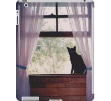 Millie , our black cat. iPad Case/Skin