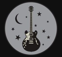 Rock Night  Gray   decoration Clothing & Stickers by goodmusic