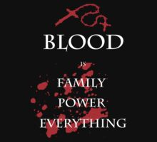 Blood is Everything by Gabriel Gutierrez