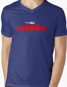GET TO THE CHOPPA - Predator Parody  Mens V-Neck T-Shirt