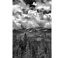 Never Summer Mountains Photographic Print