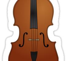 Cello Sticker