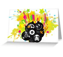 Tic_Tac_Bomb Greeting Card