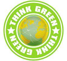 Think_Green Photographic Print