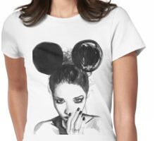 Mousing Around Womens Fitted T-Shirt