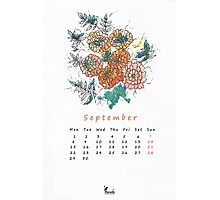 September Photographic Print