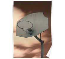 Shooting hoops on Mars Poster