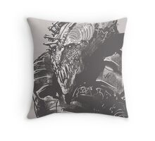 The Royal Jester Throw Pillow