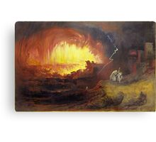 John Martin, The Destruction of Sodom and Gomorrah,  Metal Print