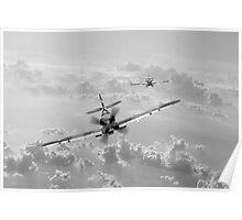 """RAAF Spitfire """"Grey Nurse"""" Poster"""