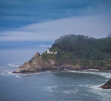 Heceta Head Lighthouse by Carrie Cole