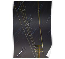 Lines of Light Poster