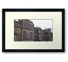 National Trust Sudbury Hall, Derbyshire Framed Print