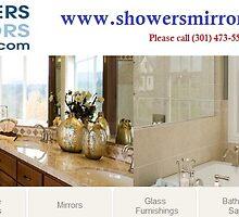 Custom shower enclosures by showersmirrorr