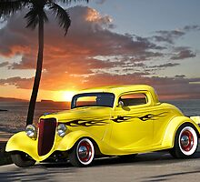 1934 Ford 3-Window Coupe by DaveKoontz
