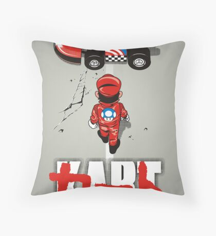 KART Throw Pillow