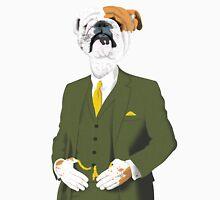 A Refined English Bulldog Unisex T-Shirt