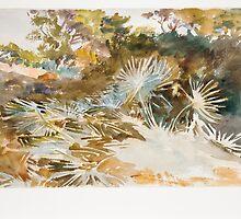John Singer Sargent, Landscape with Palmettos by Adam Asar