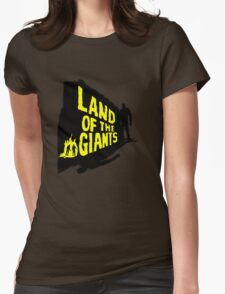 Land Of The Giants Womens Fitted T-Shirt