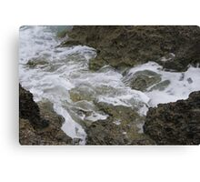 Tonga - Water flow #10 Canvas Print