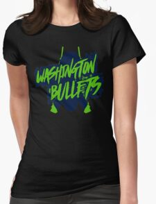 Washington Bullets Womens Fitted T-Shirt