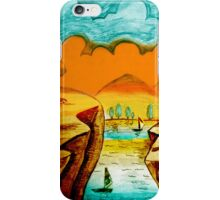 Hand Drawn Scenery iPhone Case/Skin