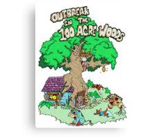 100 Acre Woods Outbreak Canvas Print