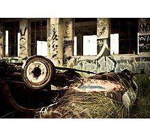 Wrecked Photographic Print