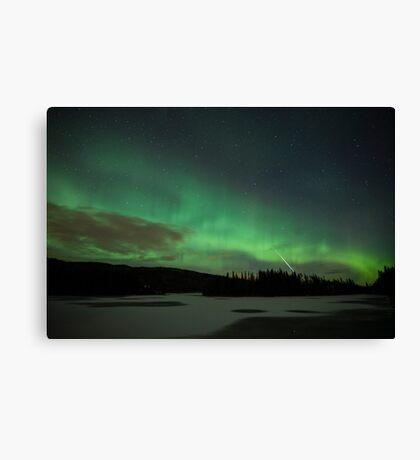 Aurora & the Meteor Canvas Print