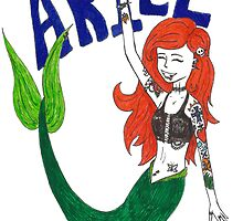 Ariel Rocks! by bittersweetjing