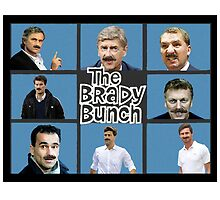 Premier League managers 2013/14 - The Brady Bunch by JoelCortez