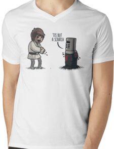 'Tis But a Scratch Mens V-Neck T-Shirt