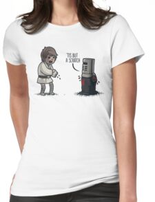 'Tis But a Scratch Womens Fitted T-Shirt
