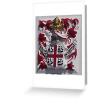 Coat of Arms, Portland Bill, Dorset Greeting Card