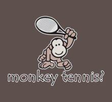 Monkey Tennis? Baby Tee