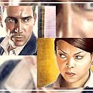 Person of Interest sketchcards by wu-wei