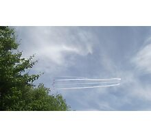 Red Arrows - Five Photographic Print