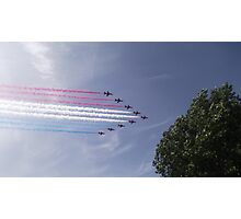 Red Arrows - Ten Photographic Print